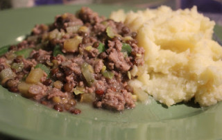 Mince and Tatties