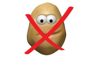 potato prohibited on gaps diet