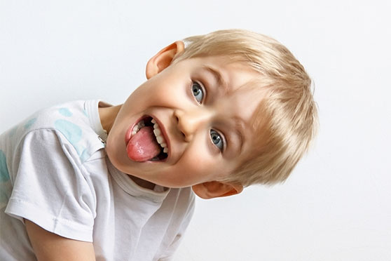 A Little Boy With ADHD